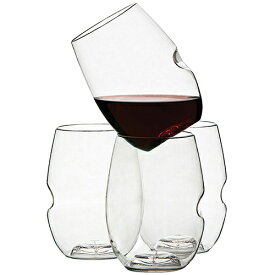 Govino Go Anywhere Wine Glass, Pack of 4/ゴヴィノ ワイングラス4個セット★