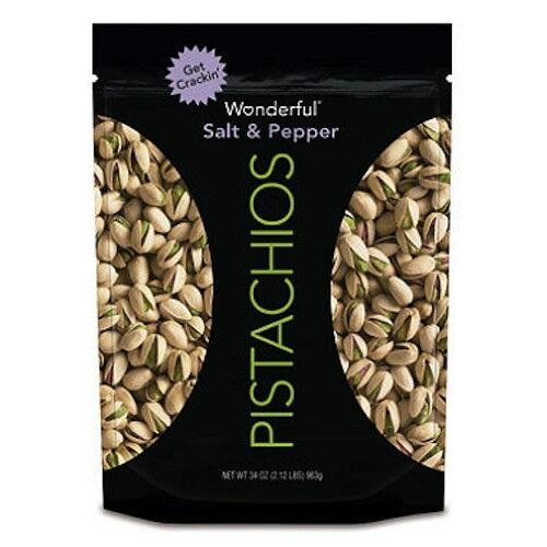 Wonderful Salt and Pepper Pistachios (40 oz) / 1.13kg /ワンダフルピスタチオ ソルト アンド ペッパー味