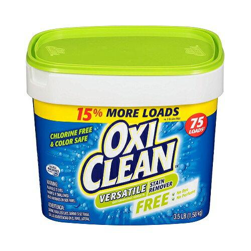【アメリカ版】Oxi Clean Versatile Stain Remover fragrance Free 3.5lb オキシクリーン ヴァーシタイル ステインリムーバー 無香料 1.36kg