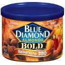 ◇ブルーダイアモンド◇ハバネロバーベキュー/Blue Diamond Almonds Bold Habanero BBQ Almonds 6 Oz Canist...
