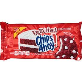 Chips Ahoy Red Velvet Filled Soft Cookies 9.6 oz ナビスコ チップスアホイ レッドベルベット ソフトクッキー 272g