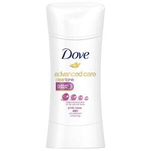 【Clear Tone Pink Rosa】アドバンスド Dove ダヴ デオドラント 74g デオドラントスティック クリアトーン ピンクローザ