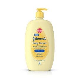 【赤ちゃんも安心】ジョンソンエンドジョンソン ココアバターベイビーローションJohnson's Baby Shea & Cocoa Butter Lotion For Dry Skin 27oz