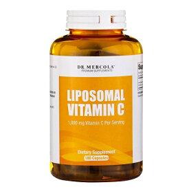 Dr Mercola リポソーム 高濃度ビタミンC 1000mg 180カプセル / リプリセル リポスフェリックが苦手な方へ