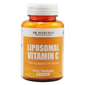Dr. Mercola リポソーム 高濃度ビタミンC 1000mg 60カプセル / リプリセル リポスフェリックが苦手な方へ