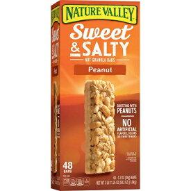 ネイチャーバレー グラノーラバー ピーナッツSWEET & SALTY NUT 48個入り/ Nature Valley Peanut Sweet & Salty Nut Granola Bars (1.2 oz, 48 pk)