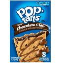 Kellogg's POP-tarts Frosted Chocolate Chip 8ct/14.1oz/400g /ケロッグ ポップタルト チョコレートチップ 50g×8枚…