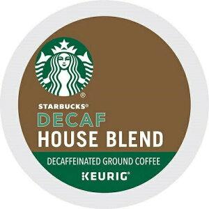 スターバックス デカフェ ハウスブレンド Kカップ 24個 /Starbucks Decaf house blend Coffee K-CUP 24ct