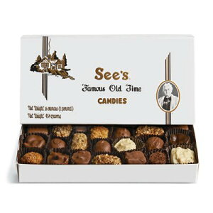 【 See's Candies 】シーズキャンディ Chocolate and Variety  チョコレート  バラエティ 詰め合わせ 1 lb