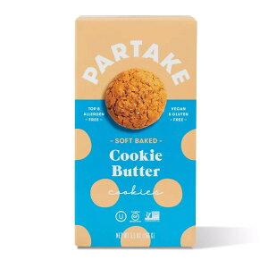 Partake Gluten Free Soft Baked Cookie Butter Cookies - 5.5oz(156g) / ソフトベイクドクッキー [クッキーバター] グルテンフリー&ヴィーガン