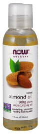 Now Sweet Almond Oil 100% Pure Moisturizing Oil / ナウ スイートアーモンドオイル 118ml(4oz) #7660 保湿 マッサージ