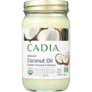 Cadia Organic Coconut Oil 14 oz オーガニック エクスペラー ココナッツオイル