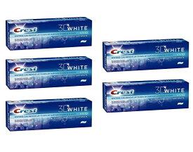 【最強版】クレスト 3Dホワイト ウルトラ ホワイトニング ビビッドミント 歯磨き粉 お得な5個セット! Crest 3D White ULTRA Whitening Toothpaste, Vivid Mint 150g 5Pack