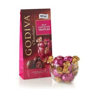 Godiva Milk Chocolate Truffles, Wrapped 7oz ゴディバ トリュフ ミルクチョコレート 198g