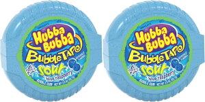 【2個セット】HUBBA BUBBA Bubble Tape Gum 6FT ハバ・ババ バブルガム テープ サワー ブルーラズベリー味 2oz 1.82メートル (6フィート)