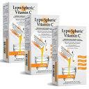 【即発送】3箱セット!リポスフェリック ビタミンC 30包×3箱 飲む点滴サプリ リポソーム Lypo-Spheric vitaminC