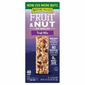 Nature Valley ネイチャーバレー フルーツ&ナッツ チューイー グラノーラバー トレイルミックス 48本入り / Fruit & Nut Chewy Granola Bar, Trail Mix