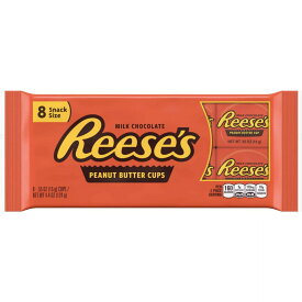 Reese's Peanut Butter Snack Size Cups / リーセス ピーナツバターカップ ミルクチョコレート 8個入り