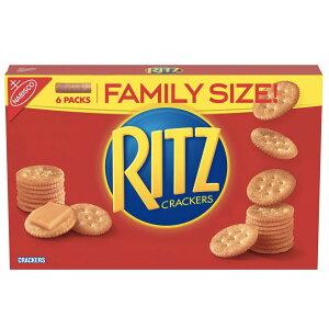 Nabisco Ritz Crackers Original - Family Size / ナビスコ リッツ クラッカー ファミリーサイズ 6袋小分け包装 583g(20.6oz)