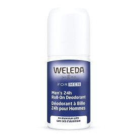Weleda Men's 24 Hour Roll-On Deodorant, 1.7 Fluid Ounce / ヴェレダ メンズ ロールオン デオドラント 24時間持続 アルミニウムフリー