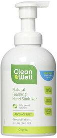 【訳あり・使用期限】CleanWell Hand Sanitizer Foaming 8 oz / クリーンウェル フォーミング ハンドサニタイザー オリジナル 240 ml