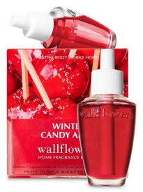 バスアンドボディワークス ☆クリスマス限定☆ Bath&Body Works WINTER CANDY APPLE Wallflowers Fragrance Refill ウィンターキャンディーアップル ウォールフラワーレフィル 2個セット