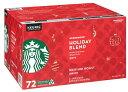 【季節限定販売】Keurig K-Cup 72-Count Starbucks Holiday Blend Coffeeキューリグ K-CUP スターバックス ホリデーブ…