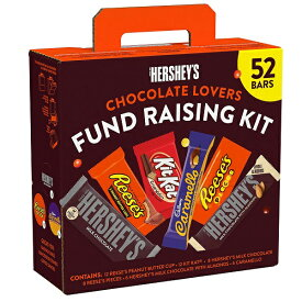 Hershey's Chocolate Candy Bar Variety Pack, Fundraising Kit (52 ct.) ハーシーズ チョコレートキャンディーバー バラエティーパック52個入り
