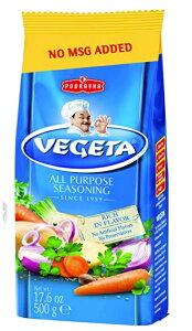 クロアチアの調味料 野菜ブイヨン(コンソメ)ベゲタ 大容量サイズ 500g Podravka Vegeta Seasoning 17.6oz