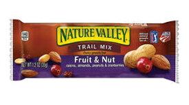 ネイチャーバレー グラノーラバー (フルーツ&ナッツ) チューイー・トレールミックス 48本入り Nature Valley Granola Bars Chewy Trail Mix Fruit & Nut