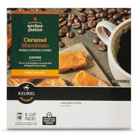 【キャラメルマキアート】キューリグ kカップ K-CUP 1箱18個 ターゲットブランド アーチャーファームズ コーヒー /Archer Farms Caramel Macchiato Single Cup 18 ct