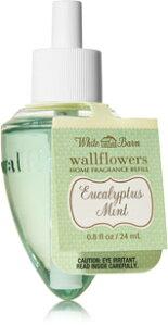 Bath&Body Works Eucalypus Mint Wallflower Refill / ユーカリプスミント ウォールフラワーレフィル1本