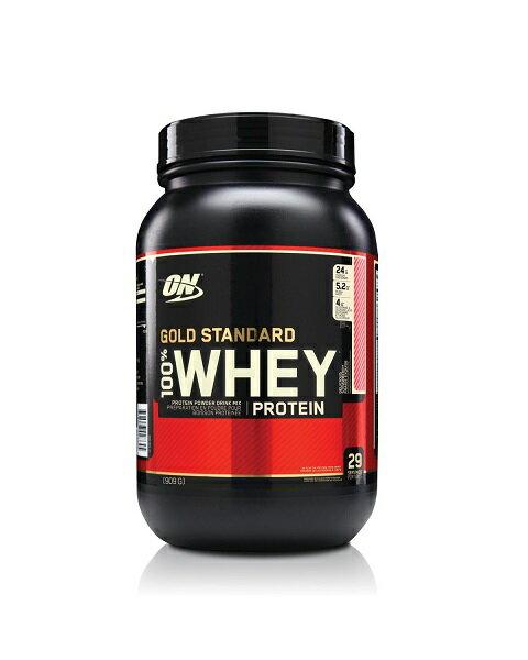 スタンダード ウェイ プロテイン ストロベリーバナナ味/100% Gold Standard Whey Protein Strawberry Banana 2 lbs (909 g)