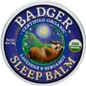 Badger Sleep Balm バジャー スリープバーム おやすみ前アロマクリーム
