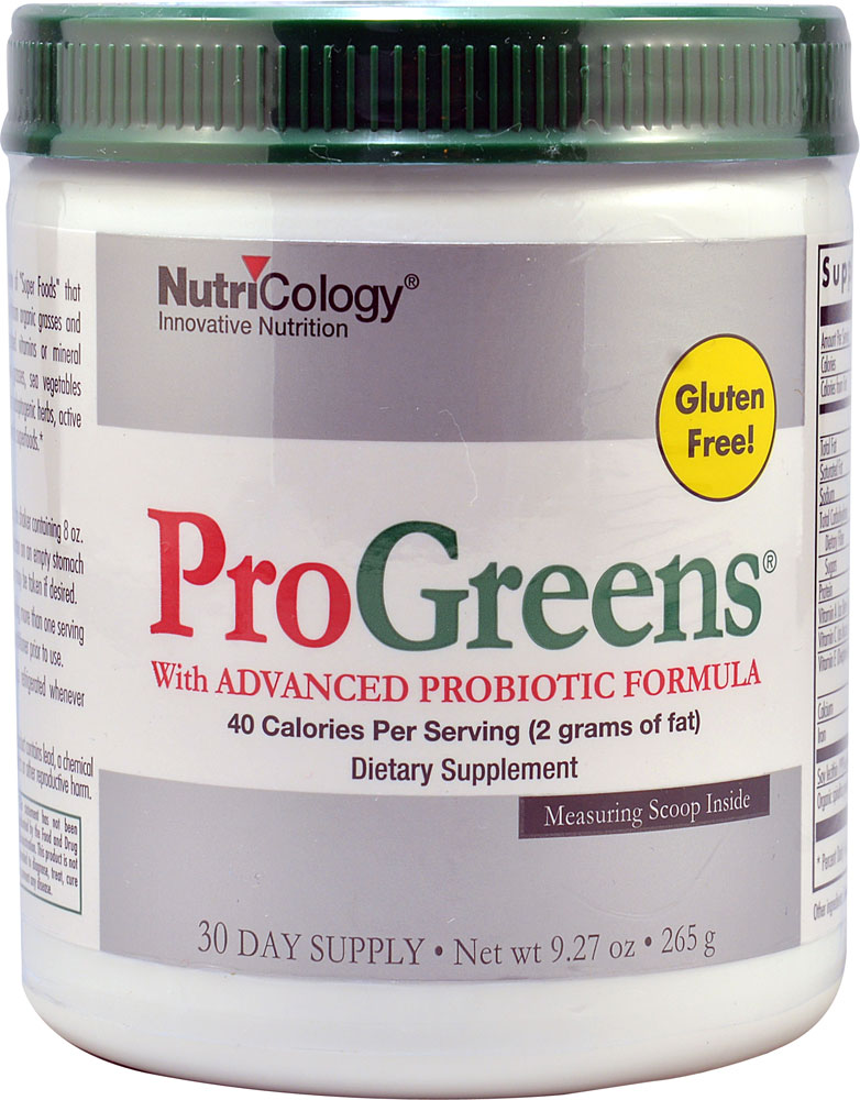 Pro Greens With Advanced Probiotic 9.27 oz(265g) プログリーンズ パウダー