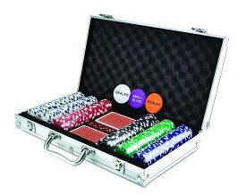 KOVOT 300 チップ サイコロ ポーカーセット アルミケース付きトランプ カジノ パーティー アメリカーナがお届け!