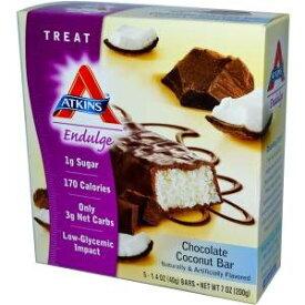 アトキンス チョコレートココナッツバー 5本(40g/1本)Atkins