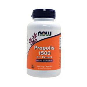 NOW Propolis 1500 mg - 100 Capsules #2540 ナウ プロポリス 1500mg 100カプセル 送料込み