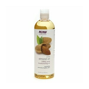 NOW Sweet Almond Oil Moisturizing Oil 16 OZ #7661 ナウ スイートアーモンドオイル 473 ml