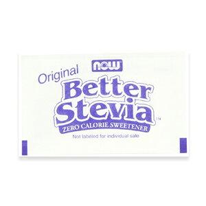 NOW BETTER STEVIA PACKETS 1000/BOX #6958 ナウ ベターステビア 1000パック
