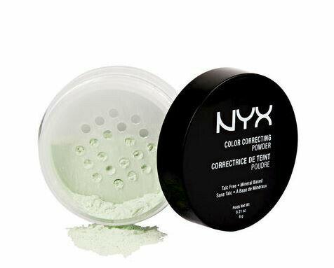 NYX Color Correcting Powder /NYX カラーコレクティングパウダー 色[01 Green グリーン]