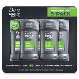 【お得な5本セット】ダヴ メンズ デオドラント エキストラ フレッシュ 76g Dove Men Care Deodorant, Extra Fresh 2.7oz 5pack