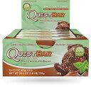 クエストバー プロテインバー ミントチョコレート 12本入り/ Quest Bar Protein Bar Mint Chocolate Flavor 12ct