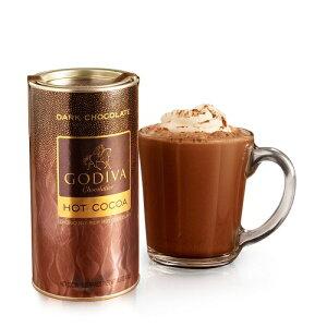 【ゴディバ】チョコラティア ダークチョコレート ホットココア Chocolatier Dark Chocolate Hot Cocoa Canister 13.1oz