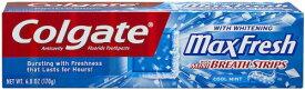 コルゲート マックスフレッシュ クールミント歯磨き粉 Colgate MaxFresh Toothpaste, Cool Mint 7.8 oz.