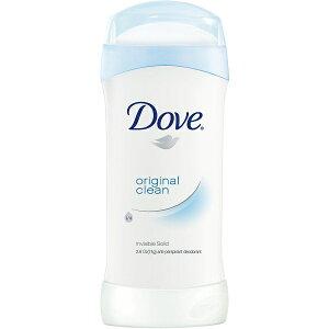 【オリジナル】Dove ダヴ デオドラント 74g デオドラントスティック 効果24時間持続! 白くならないタイプ