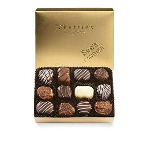 シーズキャンディー チョコレートトリュフ詰め合わせ 約225g See's Candies Chocolate Truffles Assortment 8oz