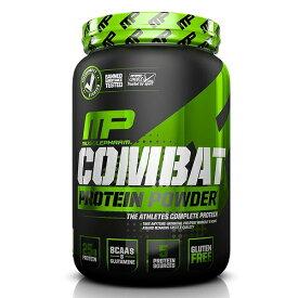 マッスルファーム コンバットプロテインパウダー チョコレートミルク味 900g MusclePharm Combat Protein Powder Chocolate Milk, 2 Pound