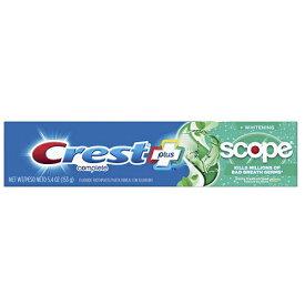 Crest + Scope Complete Whitening Toothpaste Minty Fresh Striped 5.4 ozクレスト プラス コンプリート ホワイトニング 歯磨き粉
