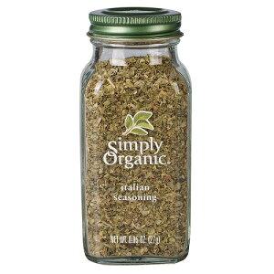 【送料無料】Simply Organic Italian seasonig Certified Organic シンプリーオーガニック イタリアンシーズニング 27g